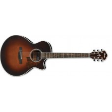 Ibanez AE205-BS Acoustic-Electric Guitar