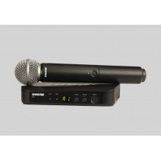 SHURE BLX24A/SM58 Handheld Wireless System