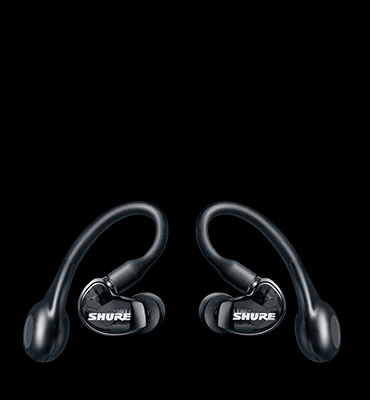 SHURE AONIC 215 True Wireless Sound Isolating Earbuds (Black)